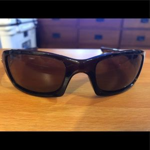Oakley Fives Squared Dark Bronze Sunglasses